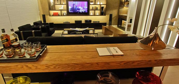Sala De Star Com Tv ~ Sala de TV  Arquiteta Elis